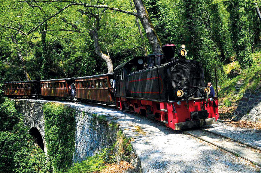 Greece - Mount Pelion and Steam Train