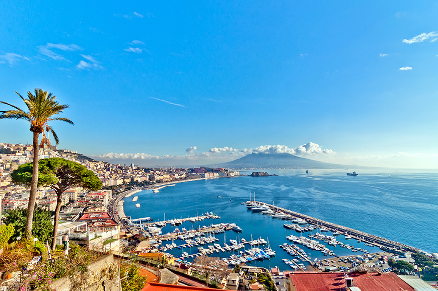 Italy - Vesuvius and Naples