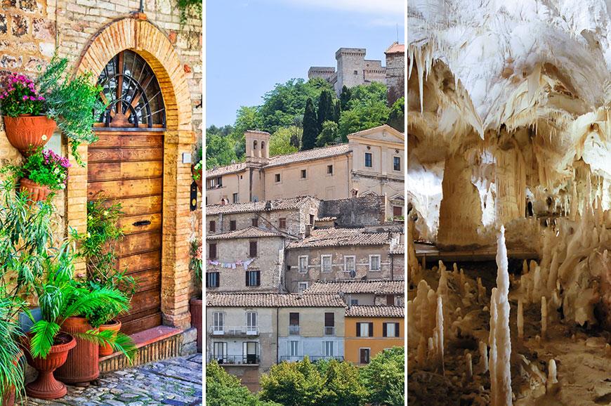 Italy Prebookable Package - Gubbio and the Frasassi Caves / Foligno and Spello / Narni and Ferentillo
