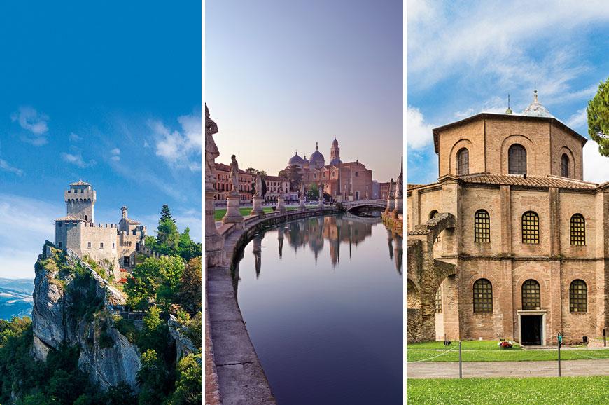 Italy Prebookable Package - San Marino and Wine Tasting - Padua - Ravenna