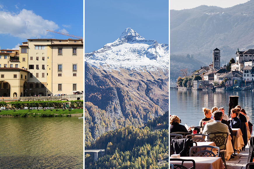 Italy - Prebookable Package – Borromean Islands tour/ Zermatt and the Matterhorn/ Lake Orta and Arona Market