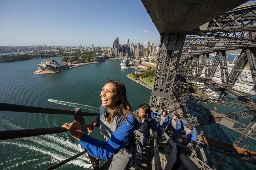 Australia - Sydney Bridge climb - Day climb