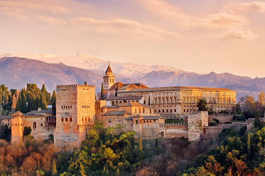 Spain - Prebookable Granada and The Alhambra Palace