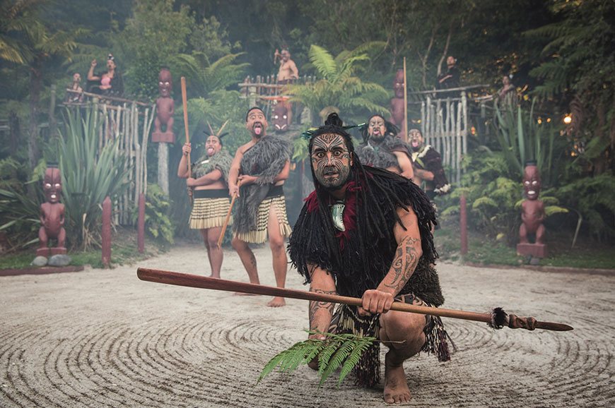 New Zealand - Rotorua - Cultural Experience and Tamaki Hangi Feast