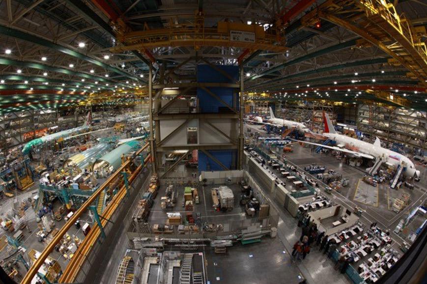 USA - Seattle - Boeing Tour