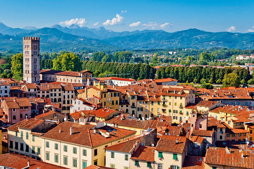 Italy - Lovely Lucca