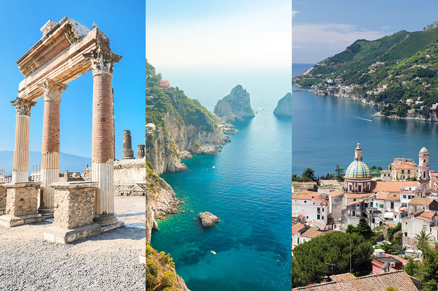 Italy - Prebookable Package - Capri/Salerno/Pompeii - The Ruins of Ancient Italy