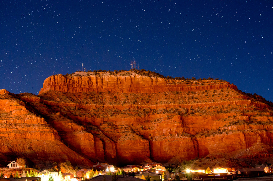 Star gazing experience in Kanab