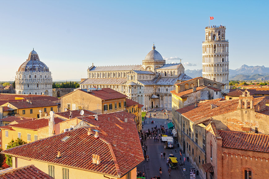 Italy - Prebookable Package - The Leaning Tower of Pisa/ Charming Siena and San Gimignano/Lucca