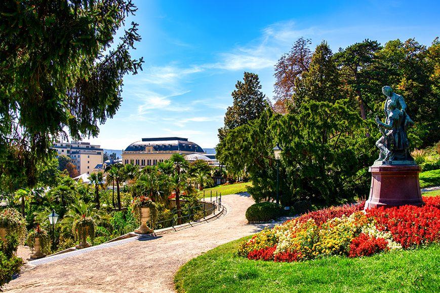 Austria - Vienna Woods, Heilgenkreuz Abbey and Baden