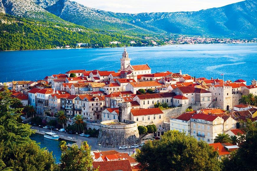 Croatia - Walking tour of Korcula