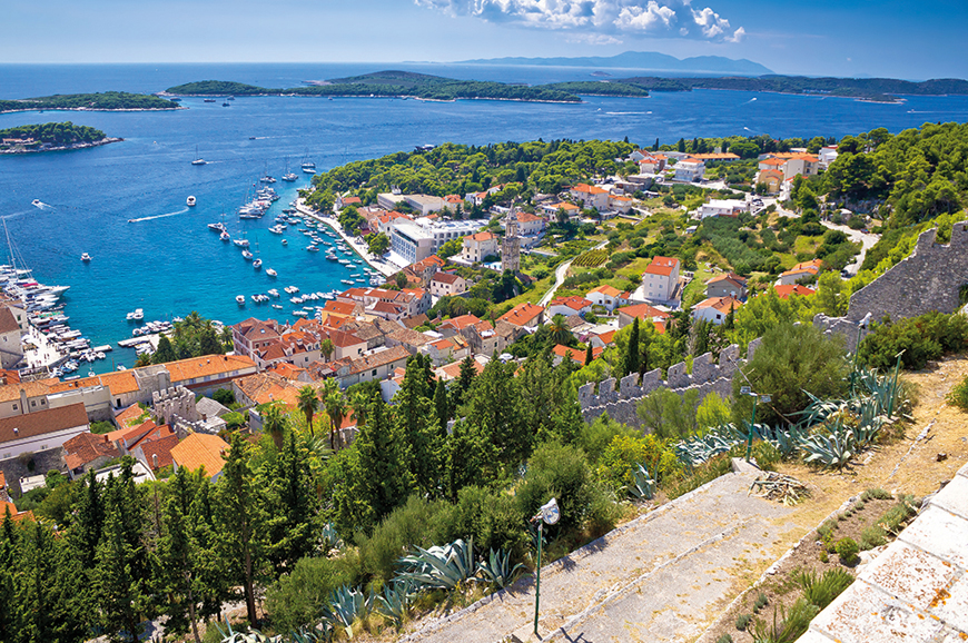 Croatia - Walking tour of Hvar