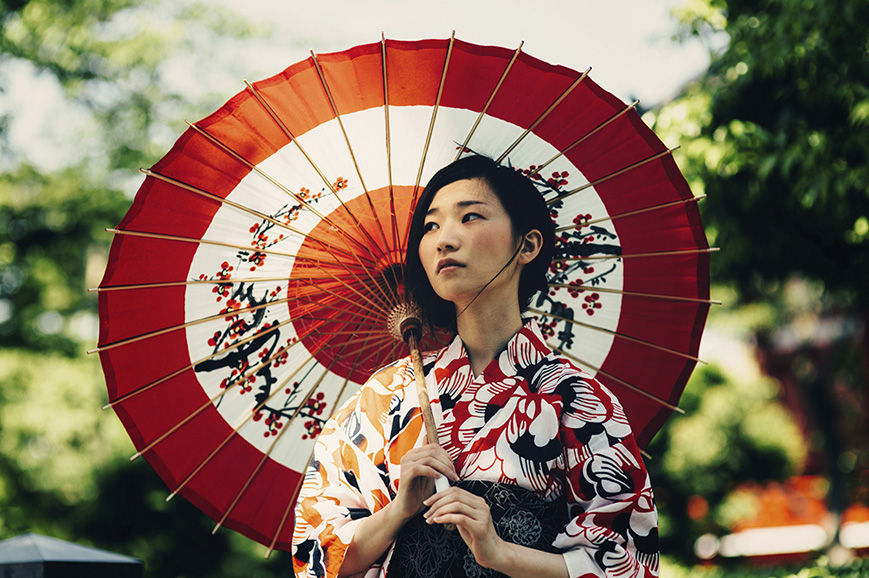 Japan - Kimono Wearing Experience
