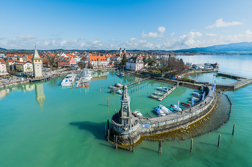 Germany - Lake Constance, the harbour town of Lindau and boat trip
