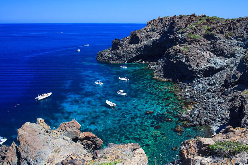 Italy - Snorkelling the coastline of Pantelleria