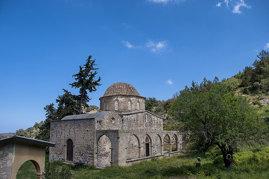 Northern Cyprus - Walk from Esentepe to Antiphonitis Church