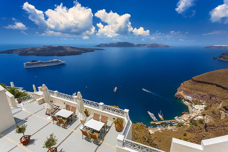 Greece - Caldera Islands cruise