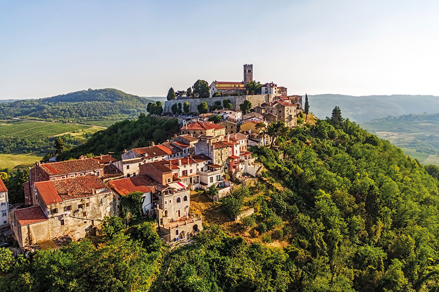 Croatia - Medieval Motovun and Truffle hunting