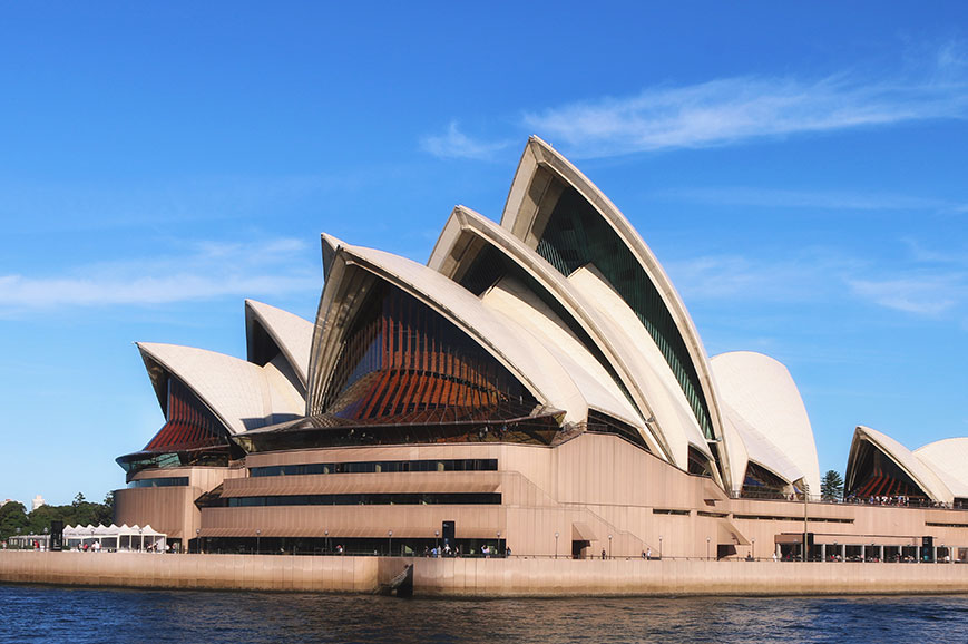 Australia - Sydney - Tour of Sydney Opera House