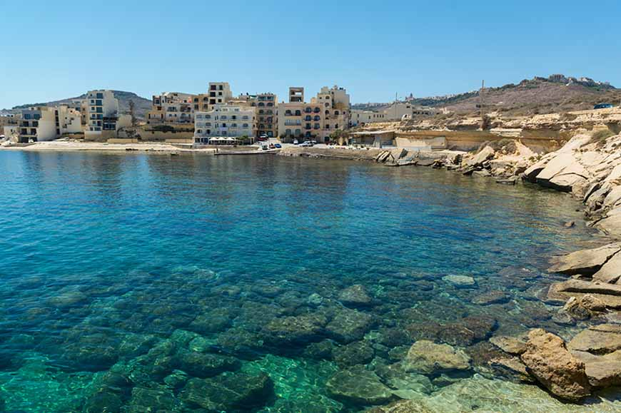 Malta - Gozo on Boxing Day