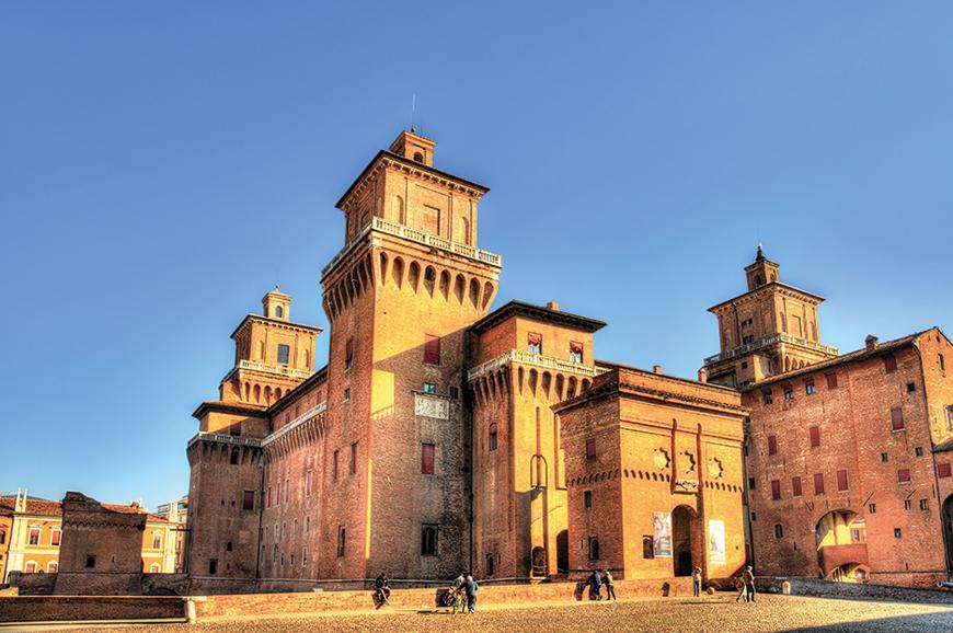 Italy - Ferrara and its castle