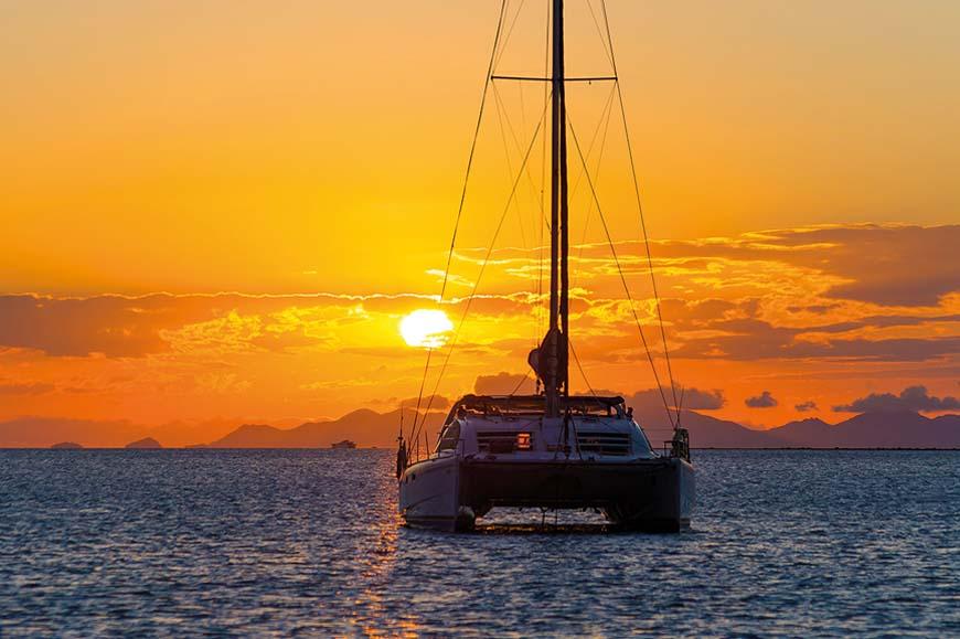 St Lucia - Sunset Catamaran Cruise