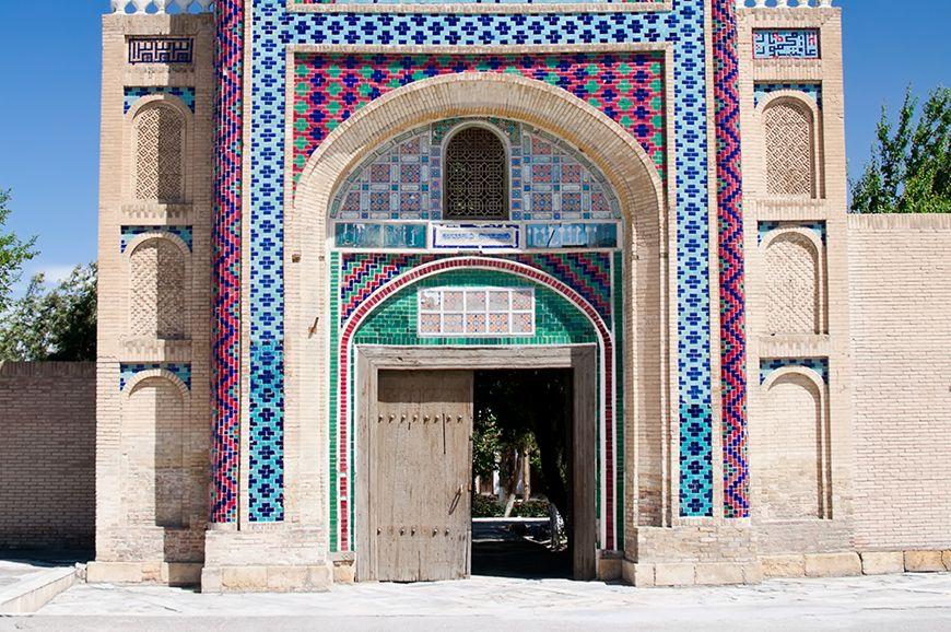 Uzbekistan - Bahauddin Naqshbandi and Sitorai Mokhi Khosa Palace