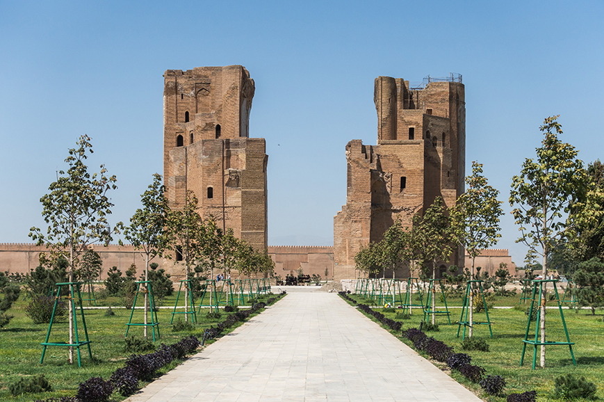 Shahrisabz, the birthplace of Turco - Mogol conqueror Timur