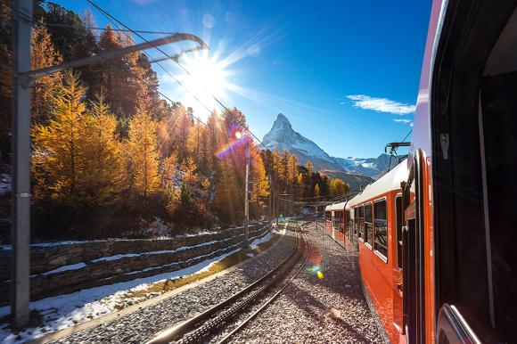 Italy - Gornergrat Glacier by Train