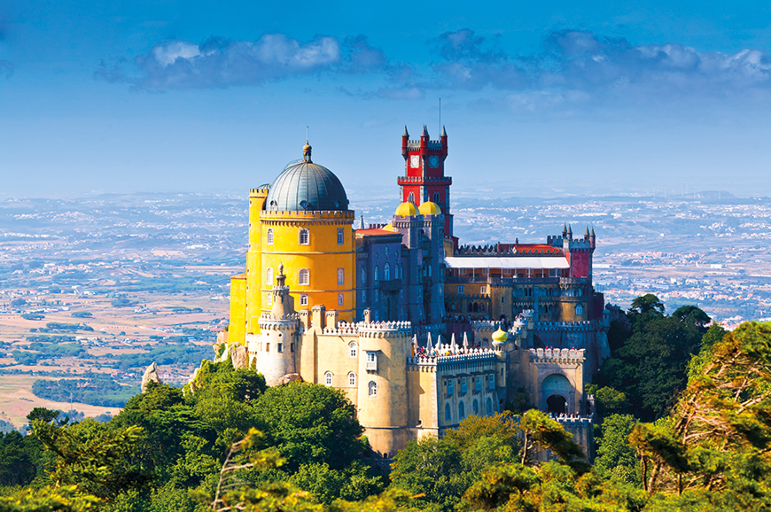 Portugal - Estoril - Visit Sintra and Cascais
