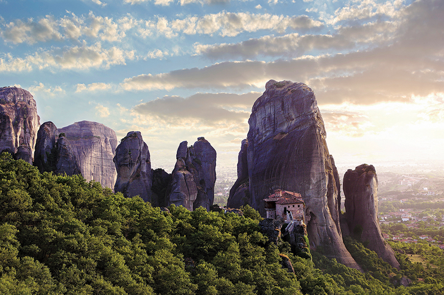 Greece - Volos - Meteora and its monasteries