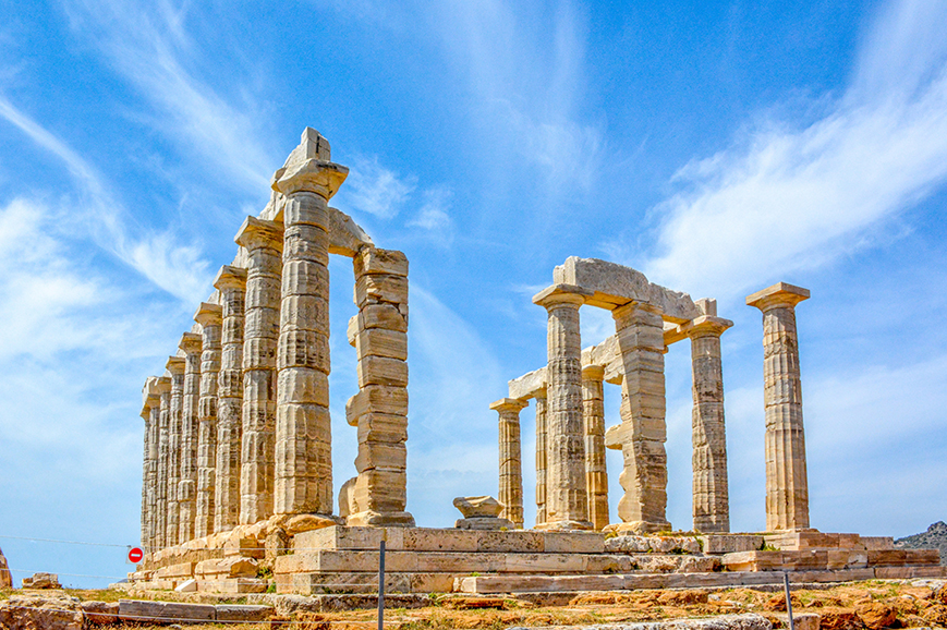 Greece - Athens - Visit the Temple of Poseidon