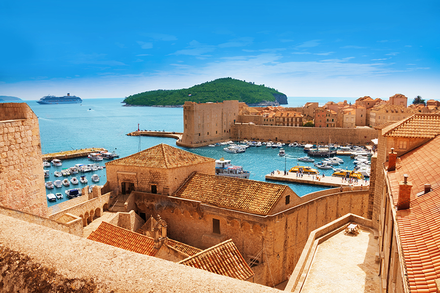 Croatia - Tucepi - Tour of Medieval Dubrovnik