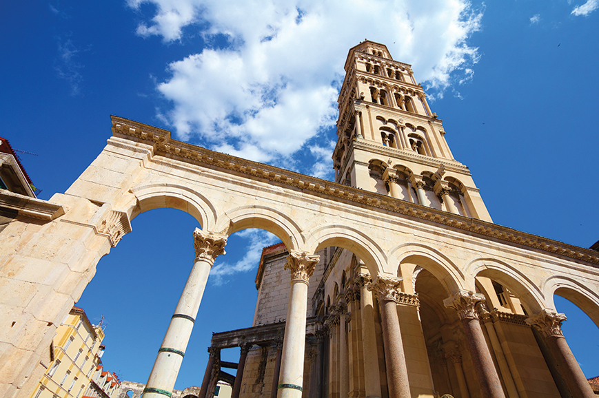 Croatia - Tucepi - Historic Split and Diocletians Palace