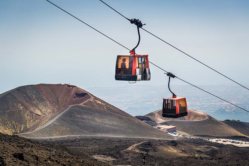 Italy - Discover Mount Etna by cable car