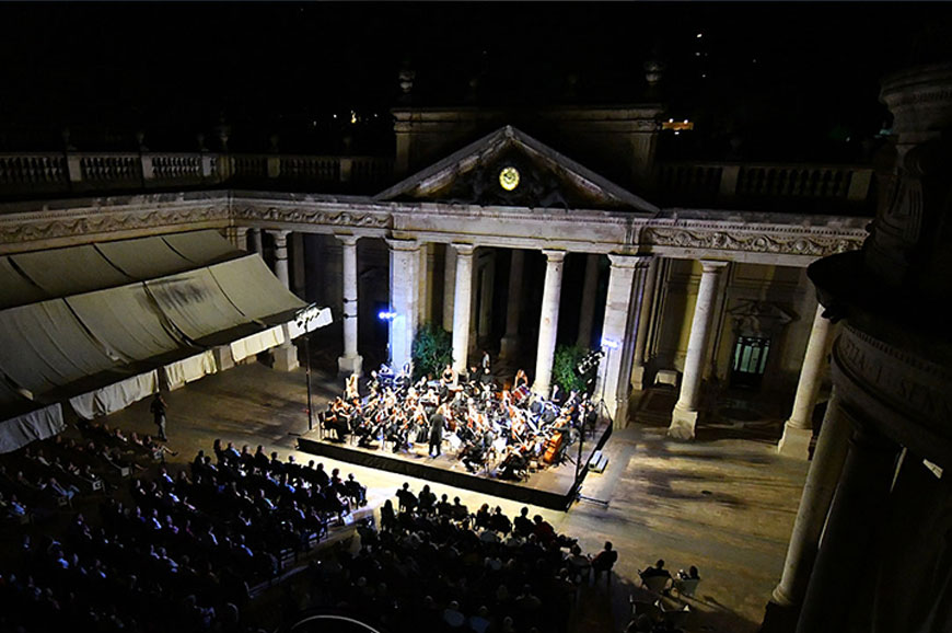 Italy - A night at the Montecatini Opera