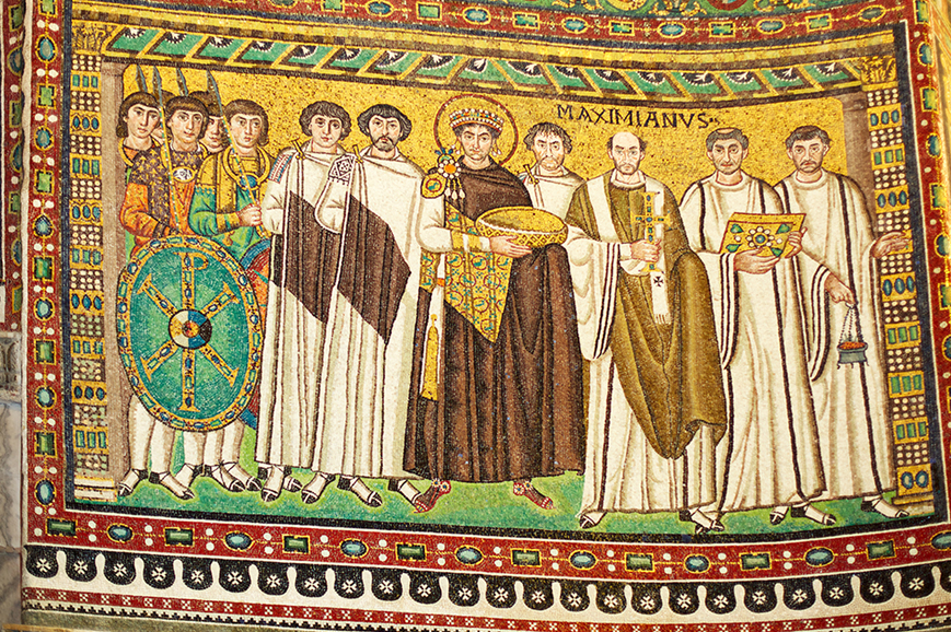 Italy - See the 5th and 6th century mosaics in Ravenna