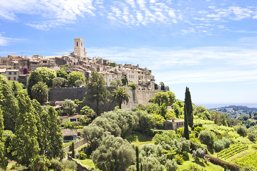 France - Visit St-Paul-de-Vence and Antibes
