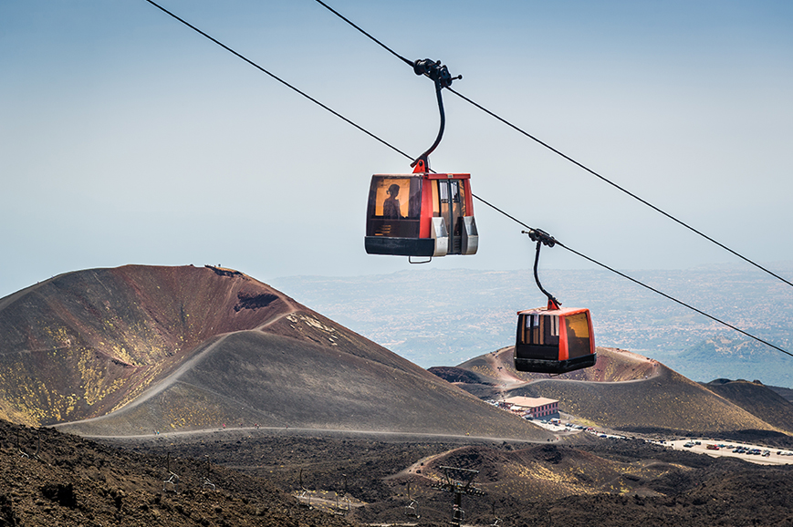 Italy - Sicily - Discover Mount Etna by Cable Car