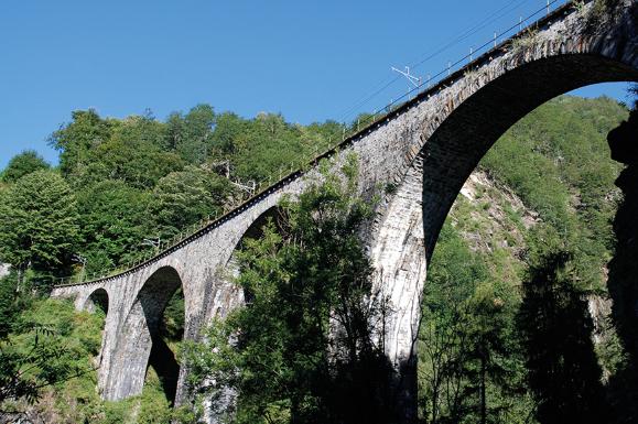 Italy - Rail journey across the Centovalli