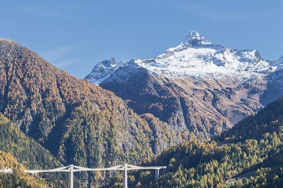 Italy - Journey across the Simplon pass to Zermatt and the Matterhorn