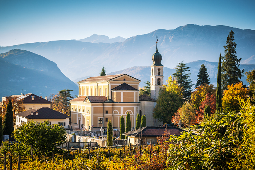 Italy - Trento and its majestic mountains