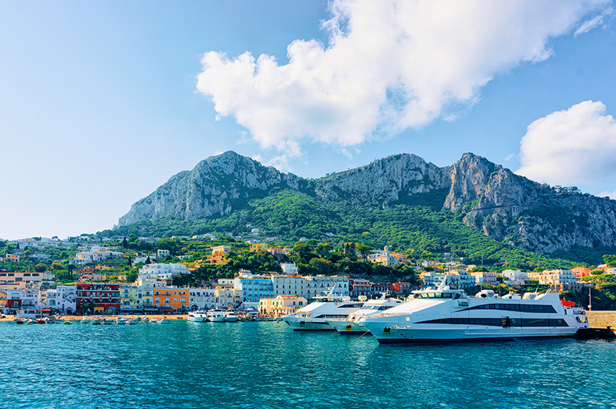Italy - Sorrento - The exclusive island of Capri