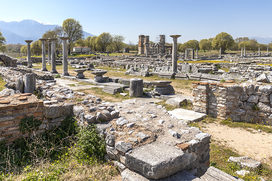 Greece – Kavala – The historical and religious sites of Philippi