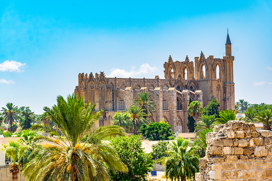 Northern Cyprus - Famagusta and Salamis Guzelyurt
