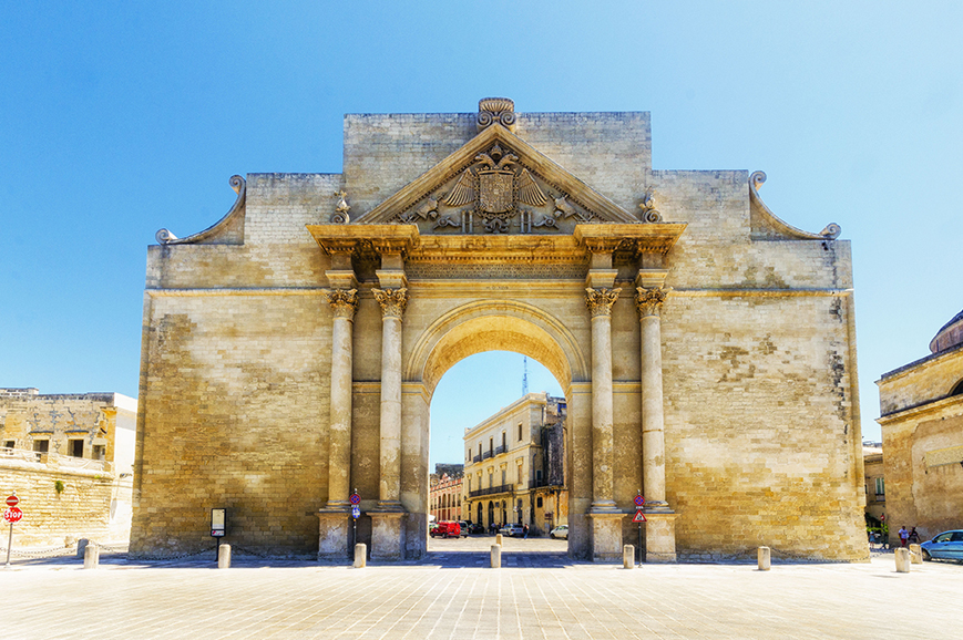 Italy - The charming town of Lecce