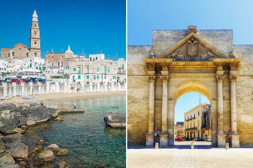 Italy - Prebookable package - Explore the coastal town of Monopoli / The charming town of Lecce