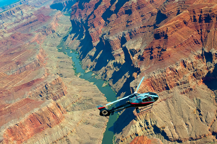 USA - Grand Canyon - Canyon Spirit Helicopter Flight