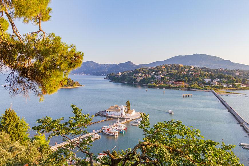Greece – Kanoni – Nature walk around Corfu