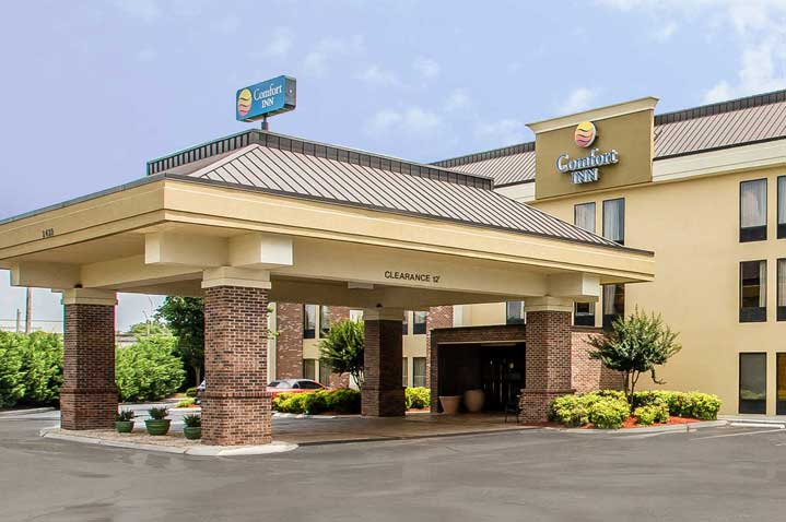 Vicksburg Hotels Comfort Inn